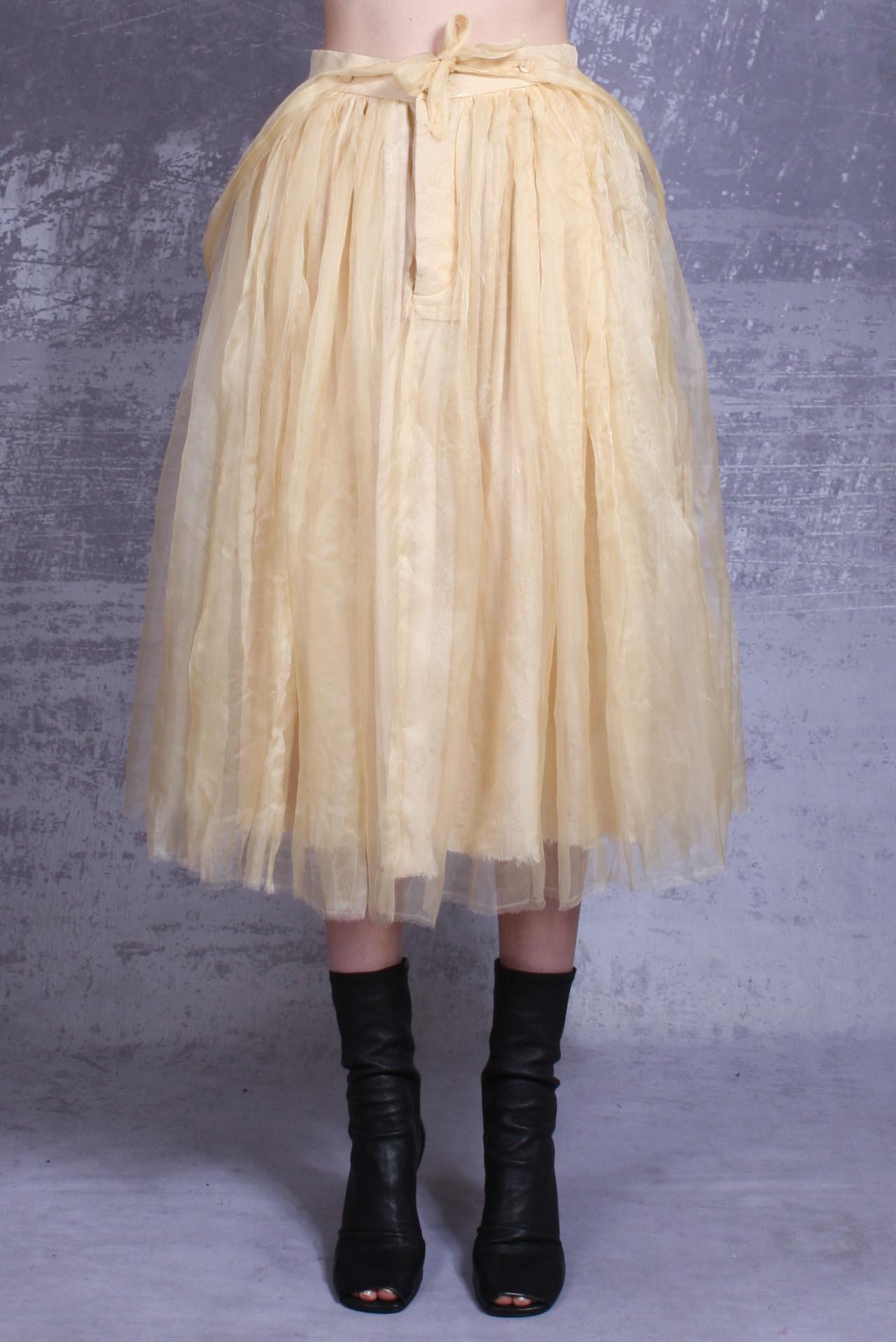 A Tentative Atelier skirt