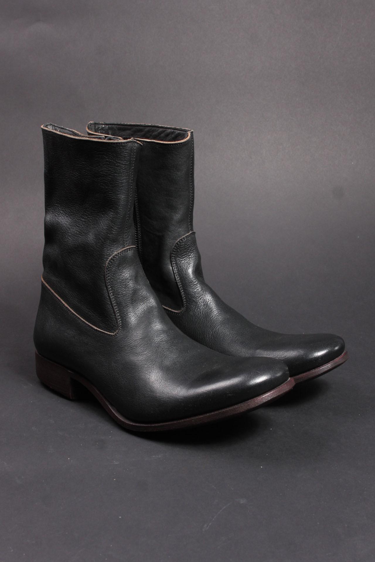 Carpe Diem side zip shoes