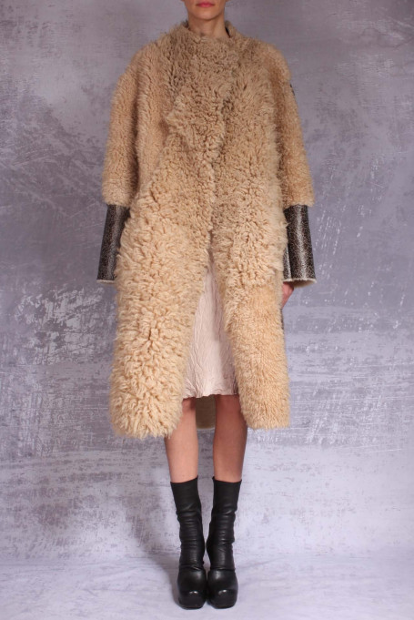 Alessandra Marchi shearling 42006820