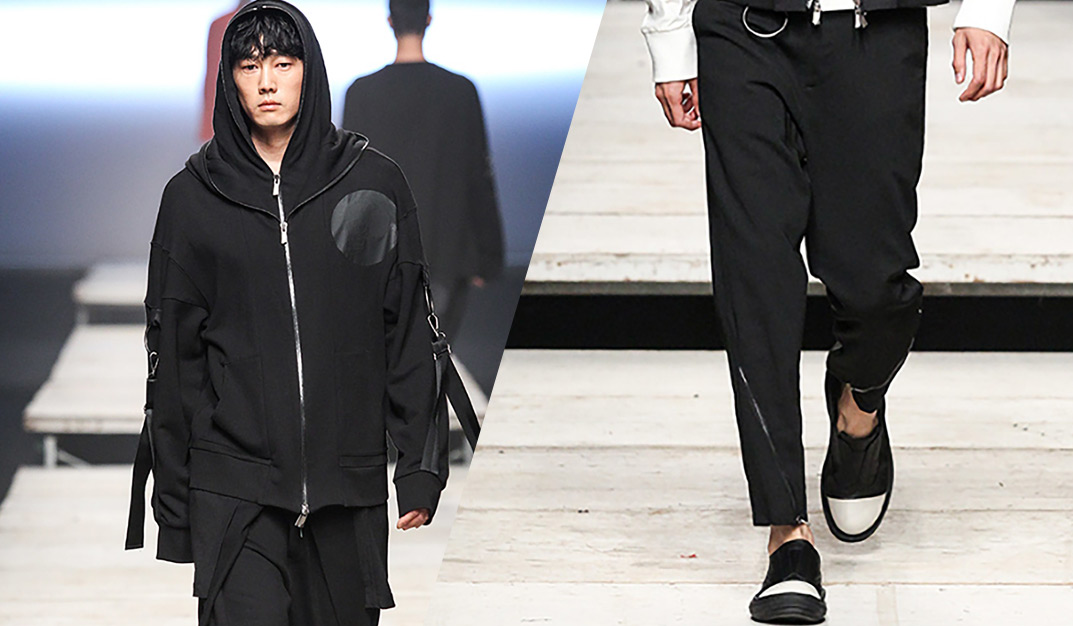 D.Gnak: Directional Fashion from the Korean Designer for S/S men's collection