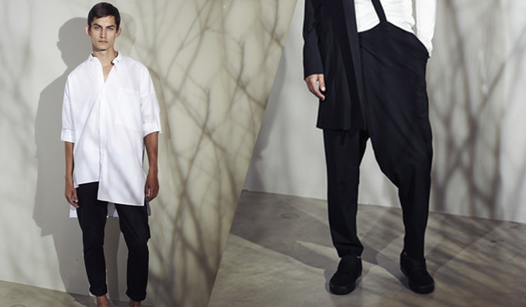 Isabel Benenato: Subtle Avant-garde Elegance for S/S 2017 men's collection