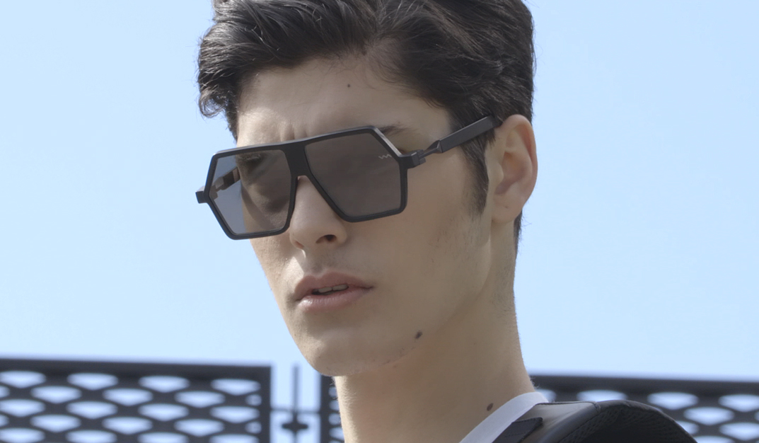 sunglasses avantgarde man style